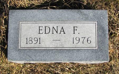 BEACH, EDNA F - Montgomery County, Iowa | EDNA F BEACH