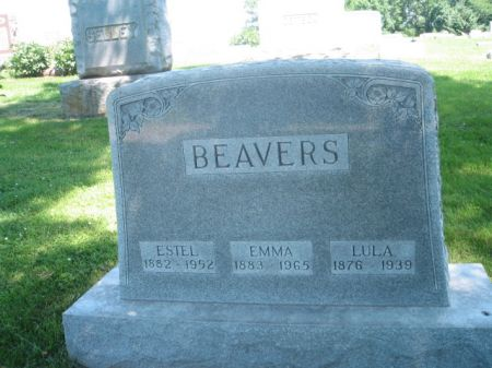 BEAVERS, EMMA - Montgomery County, Iowa | EMMA BEAVERS