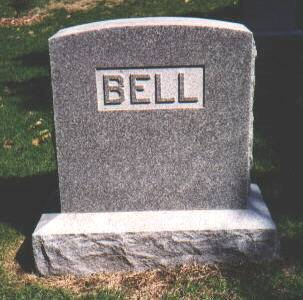 BELL-HOSSLE, SURNAME MARKER - Montgomery County, Iowa | SURNAME MARKER BELL-HOSSLE
