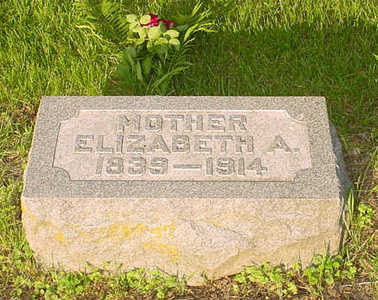 BRUNER BOGGESS, ELIZABETH ANN - Montgomery County, Iowa | ELIZABETH ANN BRUNER BOGGESS