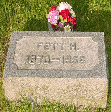 BOGGESS, FETT H. - Montgomery County, Iowa | FETT H. BOGGESS