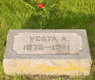 BOGGESS, VESTA A - Montgomery County, Iowa | VESTA A BOGGESS