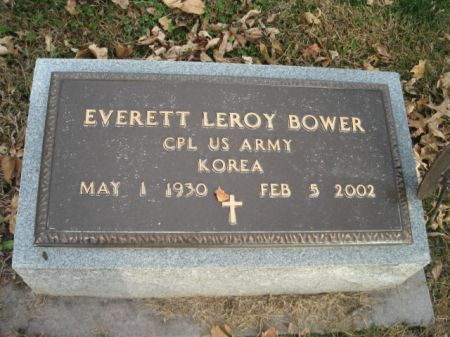 BOWER, EVERETT LEROY - Montgomery County, Iowa   EVERETT LEROY BOWER