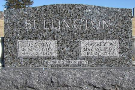 BULLINGTON, ROSA MAY - Montgomery County, Iowa | ROSA MAY BULLINGTON