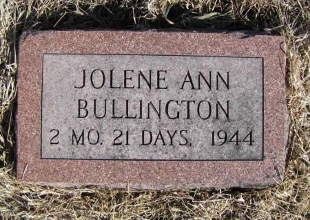 BULLINGTON, JOLENE ANN - Montgomery County, Iowa | JOLENE ANN BULLINGTON