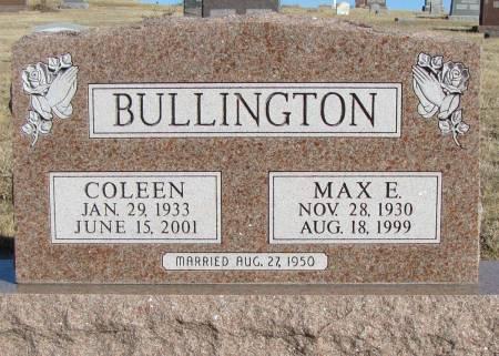 BULLINGTON, COLEEN - Montgomery County, Iowa | COLEEN BULLINGTON