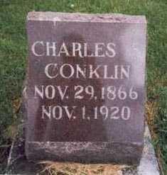 CONKLIN, CHARLES SHERMAN - Montgomery County, Iowa   CHARLES SHERMAN CONKLIN
