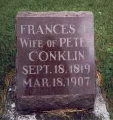 CONKLIN, FRANCES - Montgomery County, Iowa | FRANCES CONKLIN