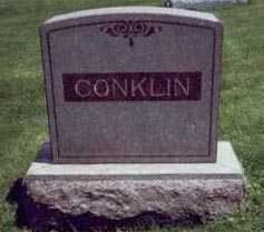CONKLIN, MARKER - Montgomery County, Iowa | MARKER CONKLIN