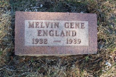 ENGLAND, MELVIN GENE - Montgomery County, Iowa | MELVIN GENE ENGLAND