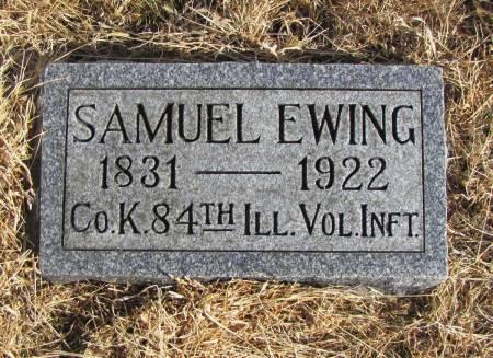EWING, SAMUEL - Montgomery County, Iowa   SAMUEL EWING
