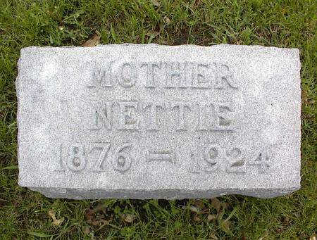 BROWN FINDLEY, NETTIE - Montgomery County, Iowa | NETTIE BROWN FINDLEY