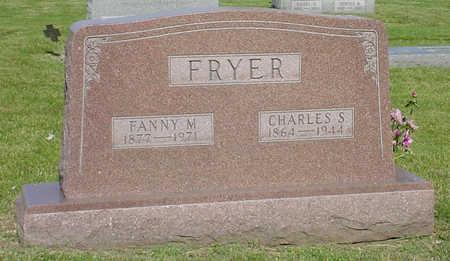 FRYER, FANNY MAE - Montgomery County, Iowa | FANNY MAE FRYER
