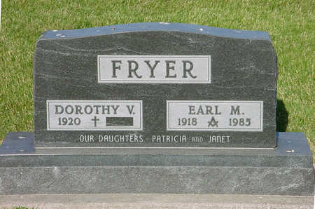 FRYER, EARL M - Montgomery County, Iowa | EARL M FRYER