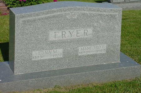 FRYER, MANFORD F. - Montgomery County, Iowa | MANFORD F. FRYER