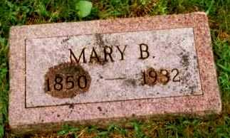 JEFFERS, MARY B. - Montgomery County, Iowa | MARY B. JEFFERS