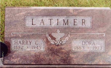 LATIMER, DORA ELNOR - Montgomery County, Iowa | DORA ELNOR LATIMER