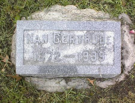 WATTS MEANS, NANCY  GERTRUDE - Montgomery County, Iowa | NANCY  GERTRUDE WATTS MEANS