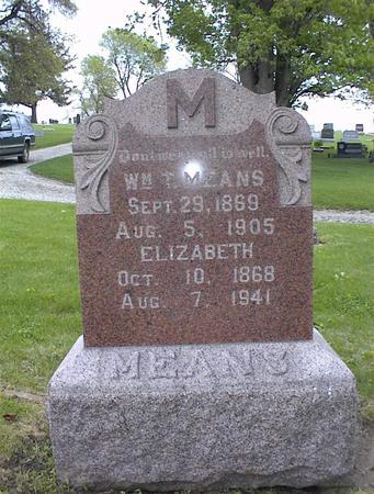WATTS MEANS, ELIZABETH L. - Montgomery County, Iowa | ELIZABETH L. WATTS MEANS