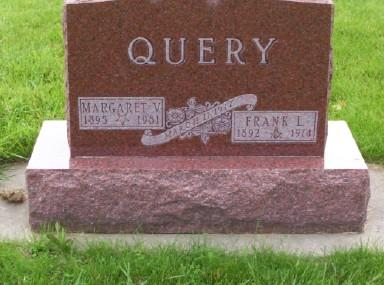 QUERY, MARGARET V. - Montgomery County, Iowa | MARGARET V. QUERY