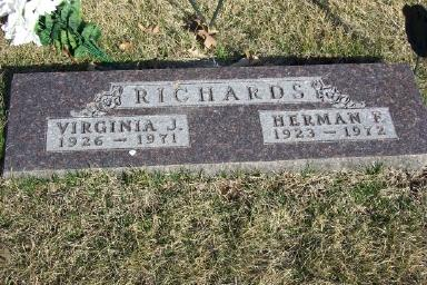 RICHARDS, VIRGINIA J. - Montgomery County, Iowa | VIRGINIA J. RICHARDS