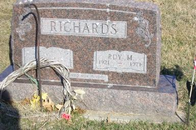 RICHARDS, ROY M. - Montgomery County, Iowa | ROY M. RICHARDS