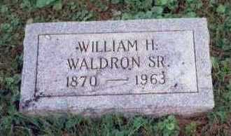 WALDRON, WILLIAM H. SR. - Montgomery County, Iowa | WILLIAM H. SR. WALDRON