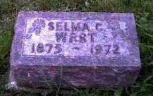 PETERSON WERT, SELMA - Montgomery County, Iowa | SELMA PETERSON WERT