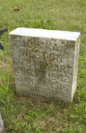 WESTON, JOHN A. - Montgomery County, Iowa | JOHN A. WESTON