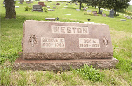 WESTON, GENEVA - Montgomery County, Iowa | GENEVA WESTON