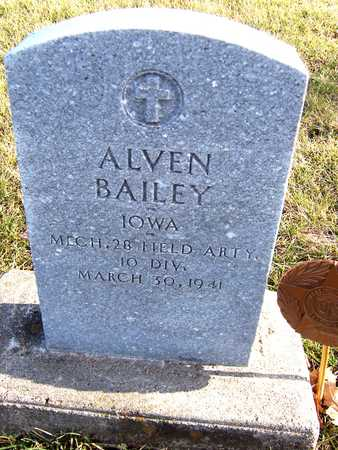 BAILEY, ALVEN - Muscatine County, Iowa | ALVEN BAILEY