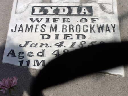 BROCKWAY, LYDIA - Muscatine County, Iowa | LYDIA BROCKWAY
