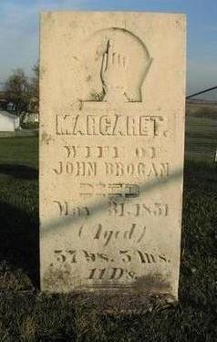 BROGAN, MARGARET - Muscatine County, Iowa   MARGARET BROGAN
