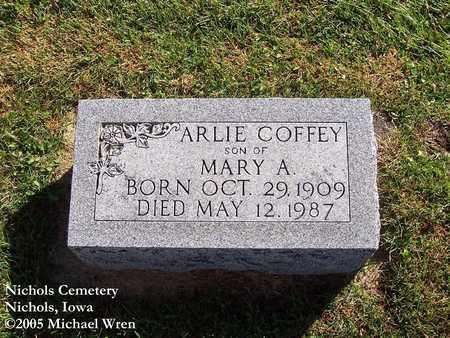 COFFEY, ARLIE - Muscatine County, Iowa | ARLIE COFFEY