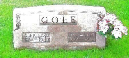 COLE, ALFRIEDA - Muscatine County, Iowa | ALFRIEDA COLE