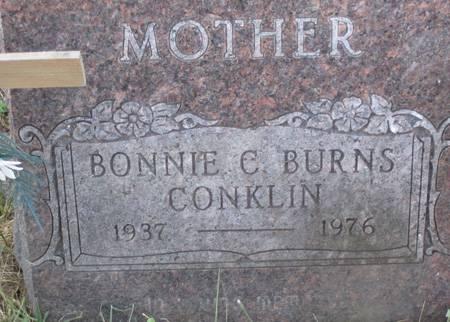 CONKLIN, BONNIE C. - Muscatine County, Iowa | BONNIE C. CONKLIN