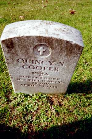 COOPER, QUINCY N. - Muscatine County, Iowa | QUINCY N. COOPER