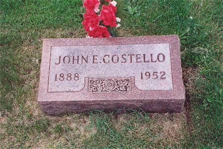 COSTELLO, JOHN E. - Muscatine County, Iowa | JOHN E. COSTELLO