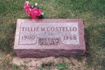 COSTELLO, TILLIE M. - Muscatine County, Iowa | TILLIE M. COSTELLO