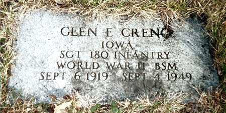 CRENO, GLEN E. - Muscatine County, Iowa | GLEN E. CRENO