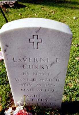 CURRY, LAVERNE E. - Muscatine County, Iowa | LAVERNE E. CURRY