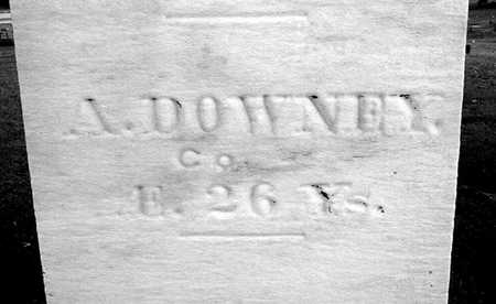 DOWNEY, A. - Muscatine County, Iowa | A. DOWNEY