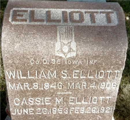ELLIOTT, WILLIAM S. - Muscatine County, Iowa | WILLIAM S. ELLIOTT