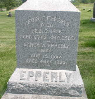 EPPERLY, GEORGE - Muscatine County, Iowa | GEORGE EPPERLY