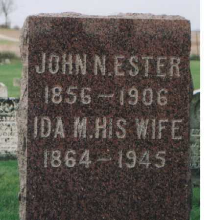 ESTER, IDA MARY - Muscatine County, Iowa | IDA MARY ESTER