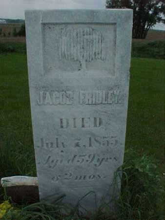 FRIDLEY, JACOB - Muscatine County, Iowa | JACOB FRIDLEY