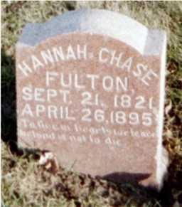 FULTON, HANNAH - Muscatine County, Iowa | HANNAH FULTON