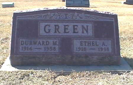 GREEN, ETHEL - Muscatine County, Iowa | ETHEL GREEN