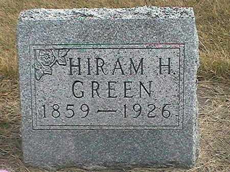 GREEN, HIRAM - Muscatine County, Iowa | HIRAM GREEN
