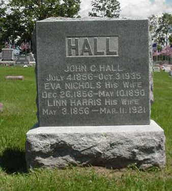 HALL, JOHN CORYDON - Muscatine County, Iowa | JOHN CORYDON HALL